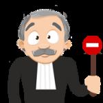 pas de juge