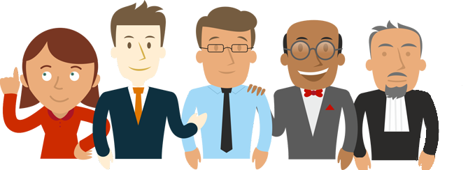 personnages Legal Design Juste Cause