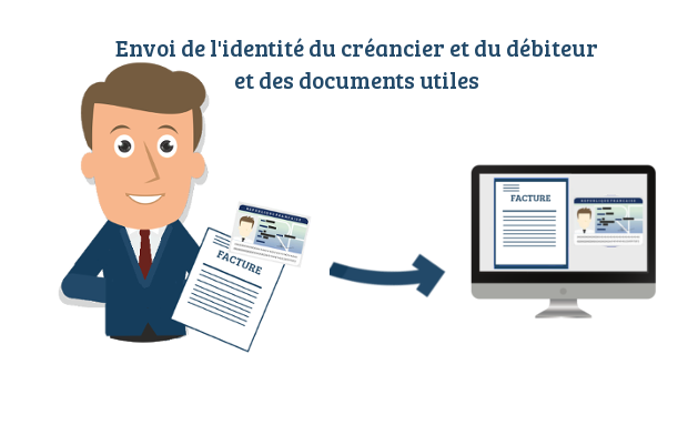 identite creancier debiteur legal design juste cause