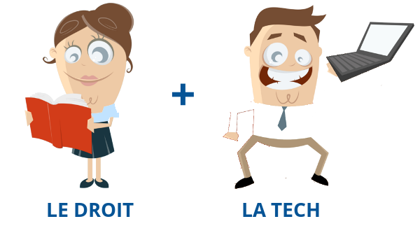 le droit et la tech legaltech juste cause legal design