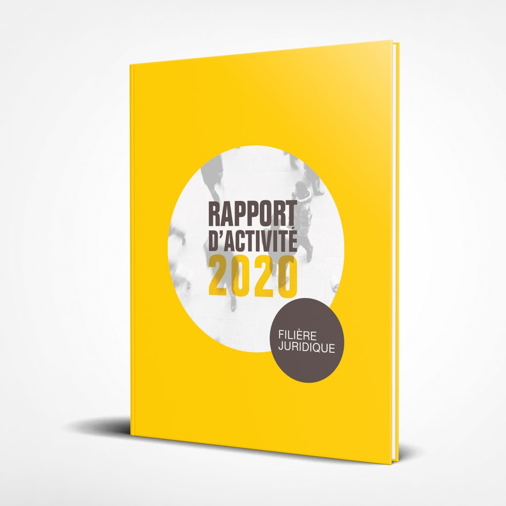 Rapport activité direction juridique Legal Design